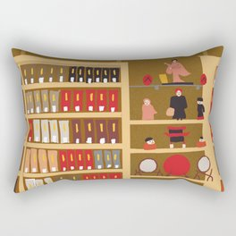 National Library of Australia: Asian Collections Reading Room Rectangular Pillow