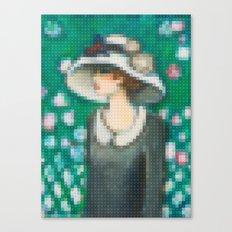 Lego: La roseraie Canvas Print
