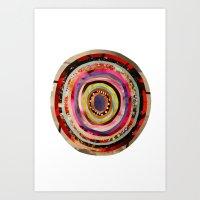 portal Art Prints featuring Portal  by Emily Kenney