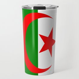 Flag of Algeria Travel Mug