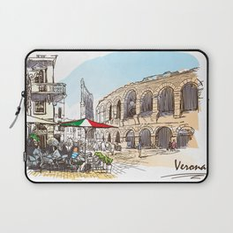 Sketches from Italy - Verona Laptop Sleeve