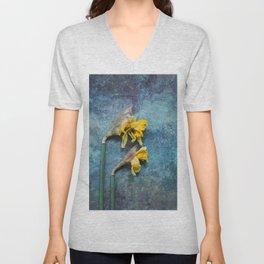 Daffodil Unisex V-Neck