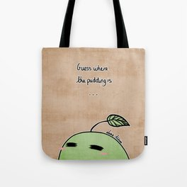 Pikmin Pudding - Where is the Pudding? Tote Bag