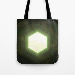 Earth II Hexahedron Tote Bag
