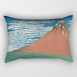 Fine Wind, Clear Weather (Gaifū kaisei) Rectangular Pillow