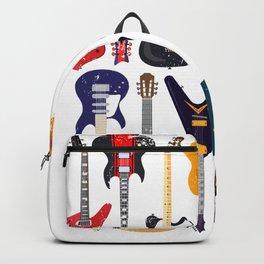 Guitars Gift Guitarist Backpack