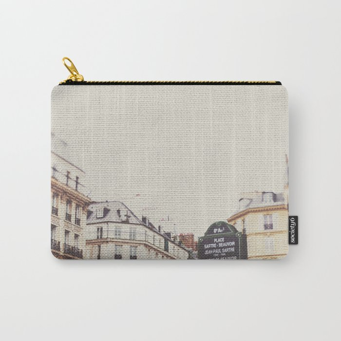 Place Sartre Beauvoir Carry-All Pouch