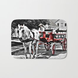 Mystic Carriage Ride Photography Bath Mat