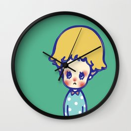Where are you, little star? Wall Clock