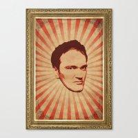 tarantino Canvas Prints featuring Tarantino by Durro
