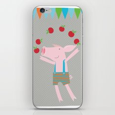 little pigs like apples iPhone & iPod Skin