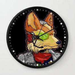 What A Fox! Wall Clock
