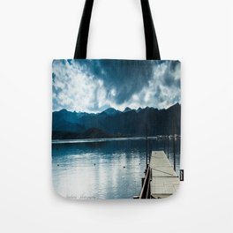 Mountains and Skies Tote Bag