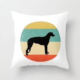Scottish Deerhound Dog Gift design Throw Pillow