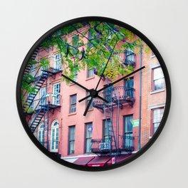 Pearl Street Wall Clock