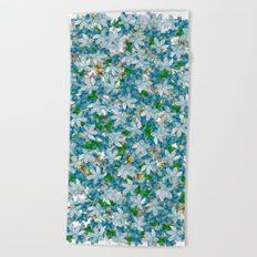 Florals for All, Spring Beach Towel