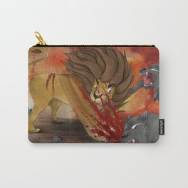 'Who is the strongest?' Illustration 2 (Original) Carry-All Pouch