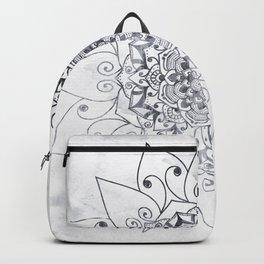 ELEGANT MANDALA IN GRAY Backpack