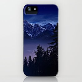 The Mountain's Dream iPhone Case