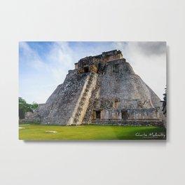 Uxmal Yucatan Mexico Metal Print
