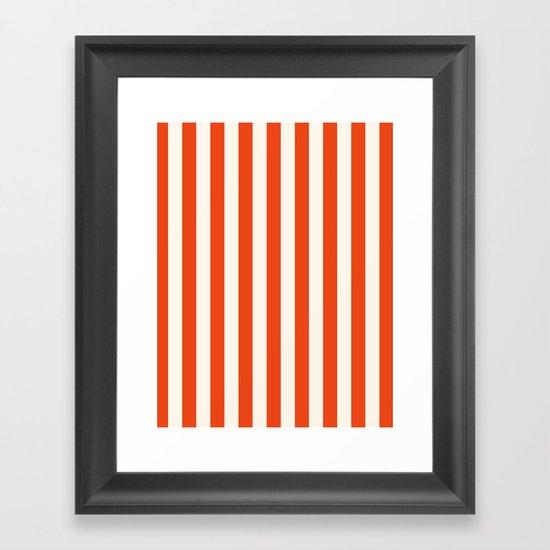SHEER FUN Framed Art Print