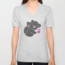 Koala Bears Unisex V-Neck