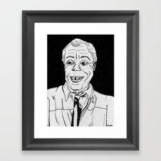 james baldwin. Framed Art Print