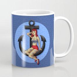 Anchor Girl Coffee Mug