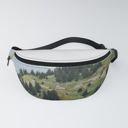 Photo of the railway station Schynige Platte, Suisse   Colorful travel photography   Fanny Pack
