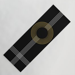 GUITAR IN ABSTRACT (geometric art deco) Yoga Mat