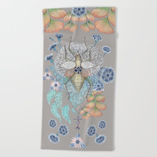 Beetle Beach Towel