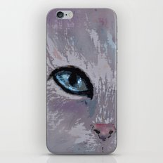 CAT EYES FOLLOW YOU iPhone & iPod Skin