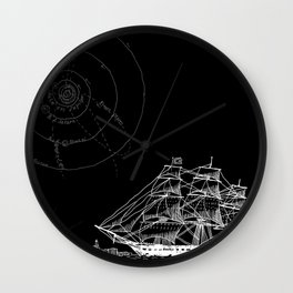 If Time Is My Vessel Wall Clock