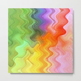 Multicolored abstract no. 21 Metal Print