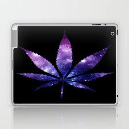 Weed : High Times purple blue Galaxy Laptop & iPad Skin