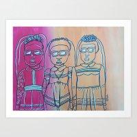 Black Girl Magic Art Print