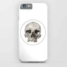 London Skull iPhone Case