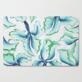 Blue Iris Cutting Board