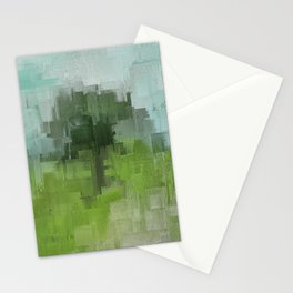 Spring Breeze Abstract Expressions Stationery Cards