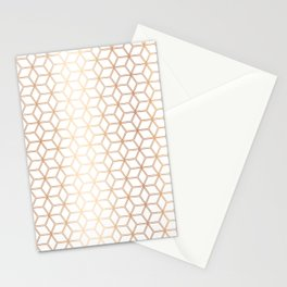 Hive Mind - Rose Gold #113 Stationery Cards