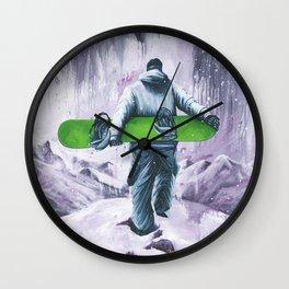 Velvet Moments Wall Clock