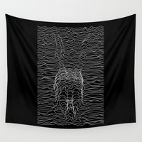joy division Wall Tapestries featuring Frank Division by Billy Allison