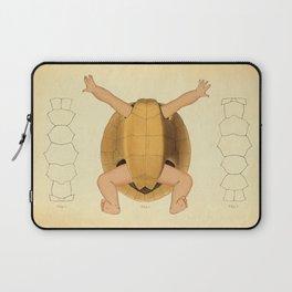 Anatomical Turtle Baby Laptop Sleeve