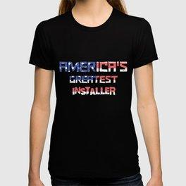 America's Greatest Installer T-shirt