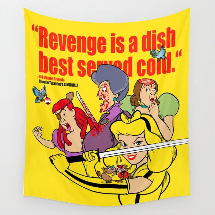 Pop Art Mashup: Kill Bill - Cinderella Wall Tapestry by bergie81 ...