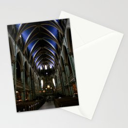 Inside Ottawa's Notre Dame Cathedral Stationery Cards