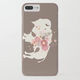 Floral Buffalo iPhone Case
