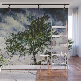 Nature's Double-Exposure Wall Mural