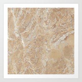 Marble Texture Surface 09 Art Print