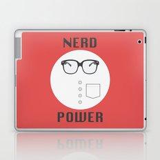 Nerd Power Laptop & iPad Skin